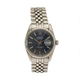 Rolex: A gentleman's wristwatch of steel