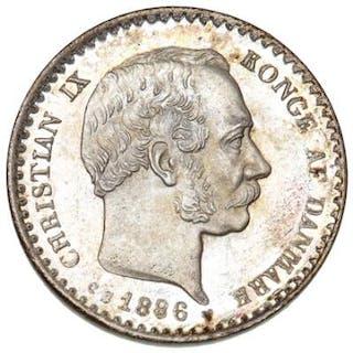 10 Øre 1886 CS, H 16A - a choice of this key date