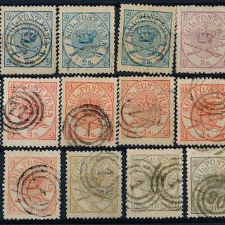 1864. Used set.