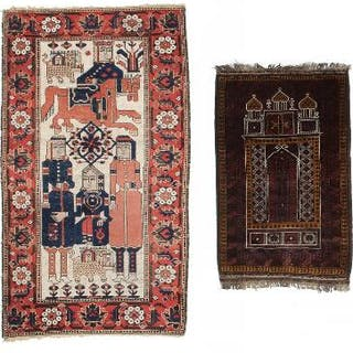 Two Balouch rugs