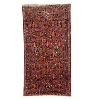A Baktiari carpet, Persia. Garden design. Mid-20th century. 395×200 cm.