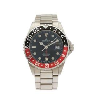 Grovana: A gentleman's wristwatch of steel