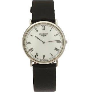 Longines: A gentleman's wristwatch of steel