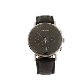 Georg Jensen: A gentleman's wristwatch of steel