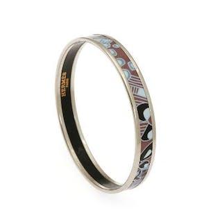 Hermès: A bangle set with violet