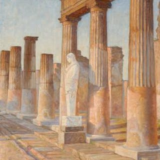 Johannes Wilhjelm: The Temple of Apollo in Pompeii