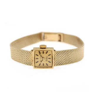 Priosa: A lady's wristwatch of 14k gold