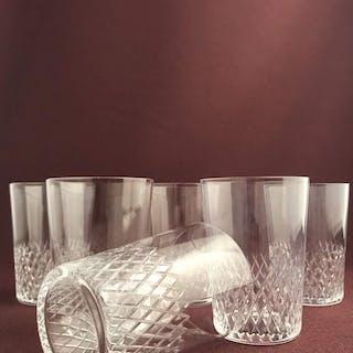 Kosta boda - Diamant -  6 st Selterglas / Whiskey glas design Vicke Lindstrand