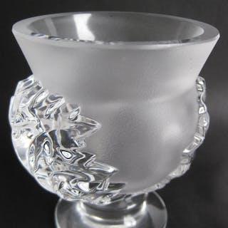 LALIQUE. Vas, kristall, Frankrike. 1900-tal.H;11,5 cm