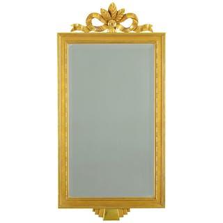 Spegel-guldfärgad -Gustaviansk stil