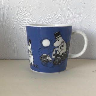 Muminmugg Mörk Blå 1991-1999