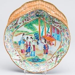 SKÅLFAT Porslin, Kina Kanton 1800-tal.