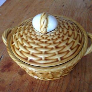 Rörstrand antik äggskål med lock