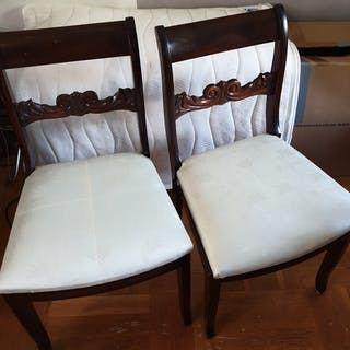 Senempire stolar 1840-talet