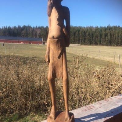 Sjelden Afrikansk träskulptur