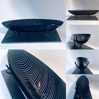 KostaBoda Boat - Båt Pilgrim  design Bertil Vallien - Nytt från glasprinsen