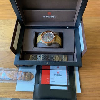 Tudor Black Bay bronze(ref:79250BM) Fullset, Uttagen 2017