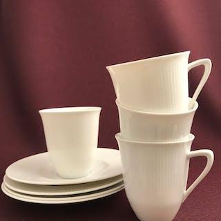 Rörstrand - 12 st Select 6 Kaffekoppar & 6 Fat-Sylvia Leuchovius