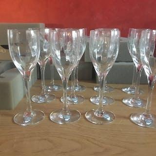 Orrefors Optica Gunnar Cyren. 12 st glas