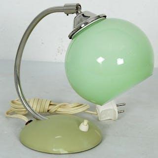 Vägglampa i Glas & Metall - Retro - Bordslampa