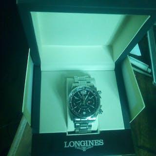 Longines Admiral chronometer med defekt krona