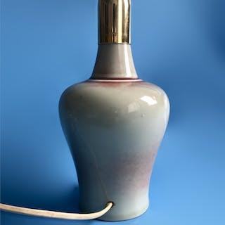 Qianlong (1736 - 1795) seal märke och period, Kina,  bordslampa