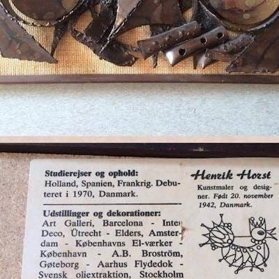 Väggskulptur Henrik Horst