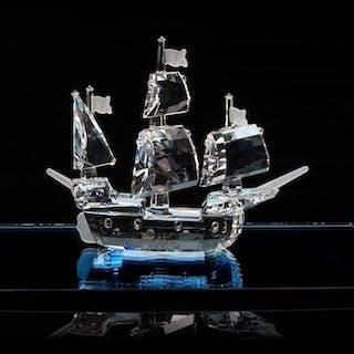 Swarovski Santa Maria Ship med Spegel