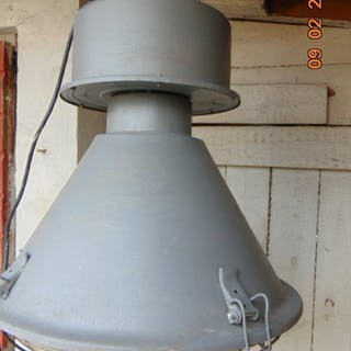 Factory lamp, vintage, bauhaus industrial loft from 1960-90