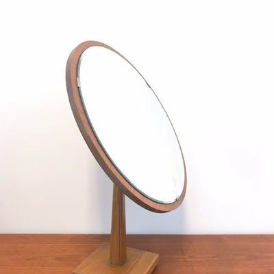 Bordsspegel - G&T Hovmantorp - Ek & Mahogny ( spegel teak glas trä retro)