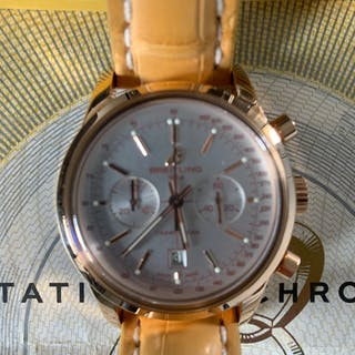 Breitling transocean chronograph 18k