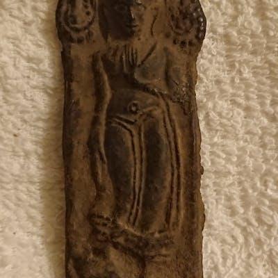 Antik Phra Leela budddha. Kru Wat Kamphaeng Phet. 500 år gammal