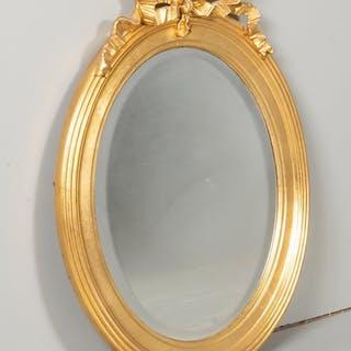 Fin äldre gustaviansk spegeln Flrgylld 56x43 cm perfekt skick