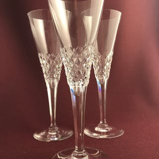 Kosta Boda - Ambassadör - 3 st Champagnestrutar - Design Vicke Lindstrand