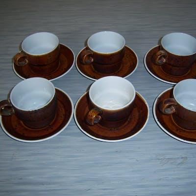 Coq Kaffekoppar Gustavsberg