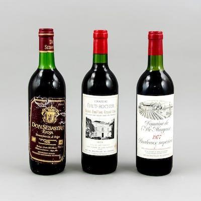 Kleines Wein-Konvolut: