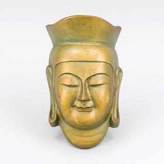 Buddha-Maske, China, 20