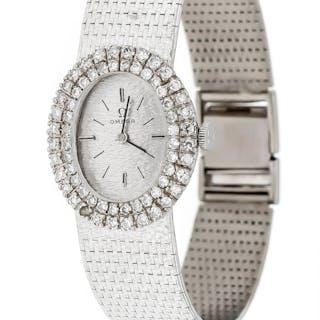 Damenuhr Omega WG 750, mit Diamant ca