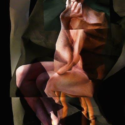 Claudia Vialaret - Le Deuxième Penseur, 2009, Technique :, Technique