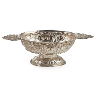 A Dutch late 18th century brandy bowl