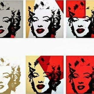 Golden Marilyn Portfolio - Andy Warhol