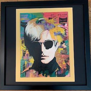 Andy Warhol Portrait - Andy Warhol