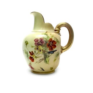 A ROYAL WORCESTER JUG