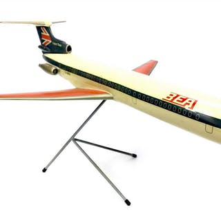 A SKYLAND MODELS BEA TRIDENT THREE G-ABEA MODEL PLANE