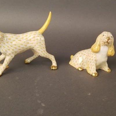 2 Herend Figurines | Barnebys