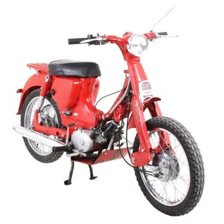 1962 Yamaha MJ-2 Moped