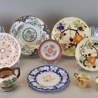 Grouping of English Porcelain