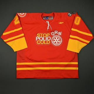 """McIlveen, Paul Red """"Stop Polio Cold"""" - Feb. 18 Greenville Road Warriors"""