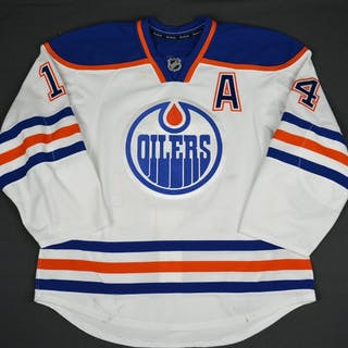 Eberle, Jordan White Set 1 w/A Edmonton Oilers 2015-16 #14 Size: 54