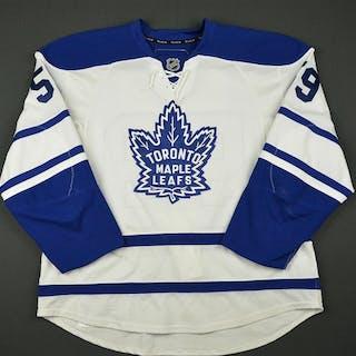 Aulie, Keith * White Vintage Alternate - Photo-Matched Toronto Maple